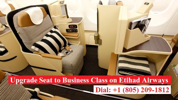 How to Upgrade My Seat to Business Class on Etihad Airways?